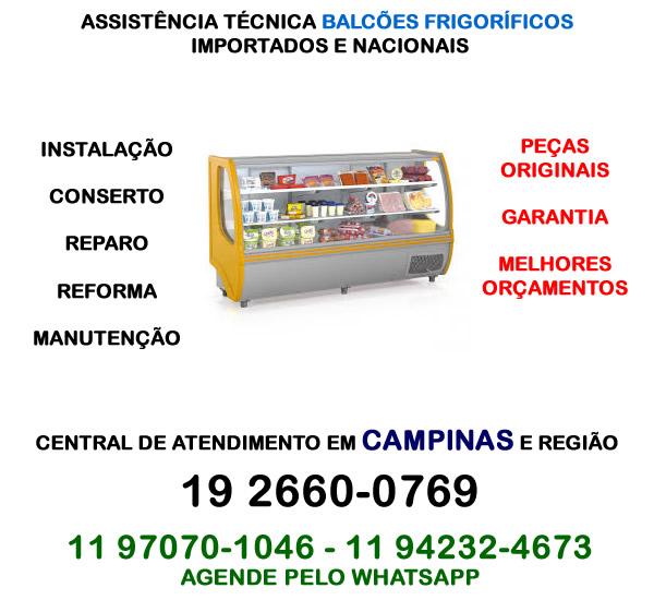 Assistência técnica balcão frigorífico