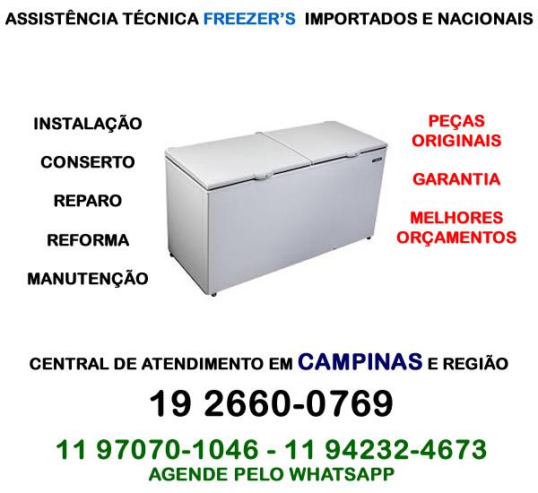 Assistência técnica freezer